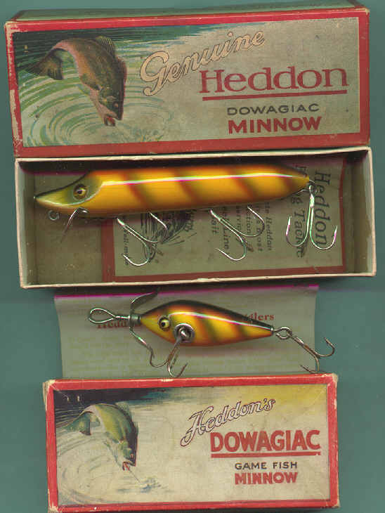 The most valuable antique fishing lures and their boxes for Collectible fishing lures