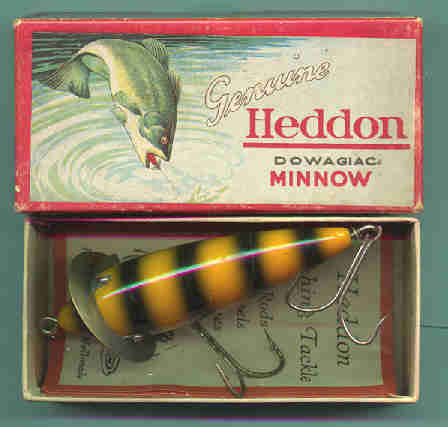 antique fishing lures and their wonderful boxes, Fishing Bait