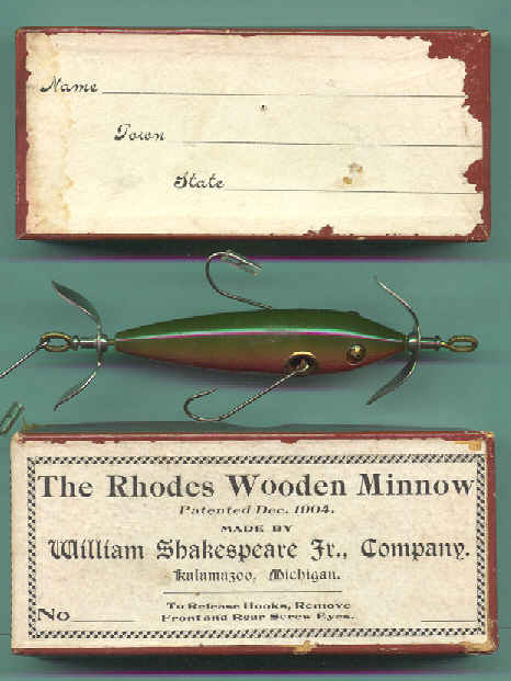 the most valuable antique fishing lures and their boxes, Fishing Bait